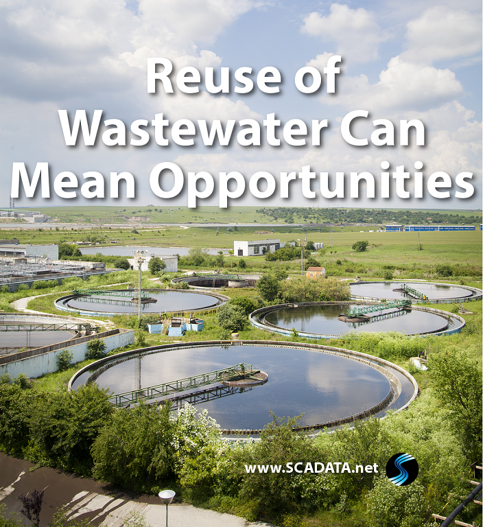 Reuse of Wastewater Can Mean Opportunities