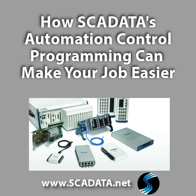 How SCADATA's Automation Control Programming Can Make Your Job Easier
